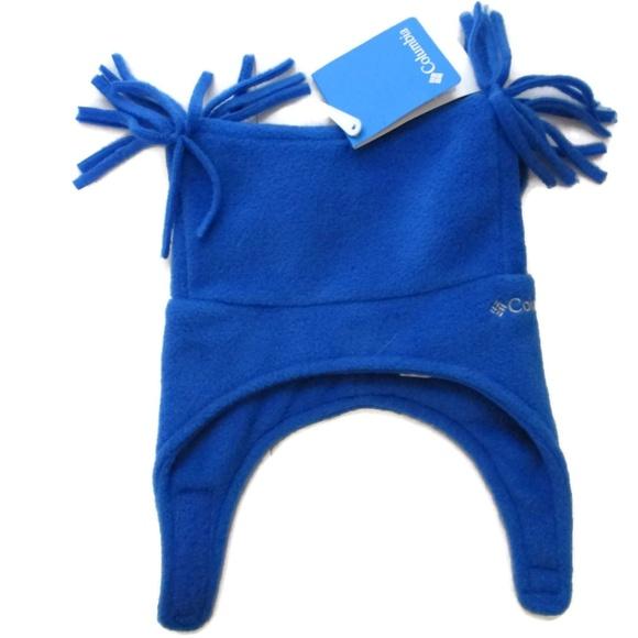 994b46de0f4 Columbia Toddler Blue Wimpy Trail Pigtail Hat